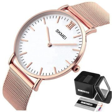 Zegarek SKMEI 1181 Stainless Steel MESH rose gold