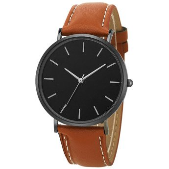 brown black dial